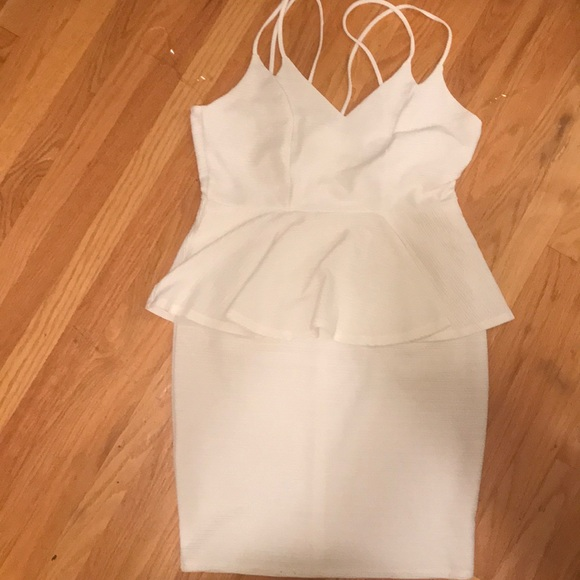 Charlotte Russe Dresses | Peplum Plus Size Dress | Poshmark